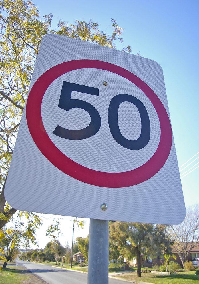 50km speedlimit
