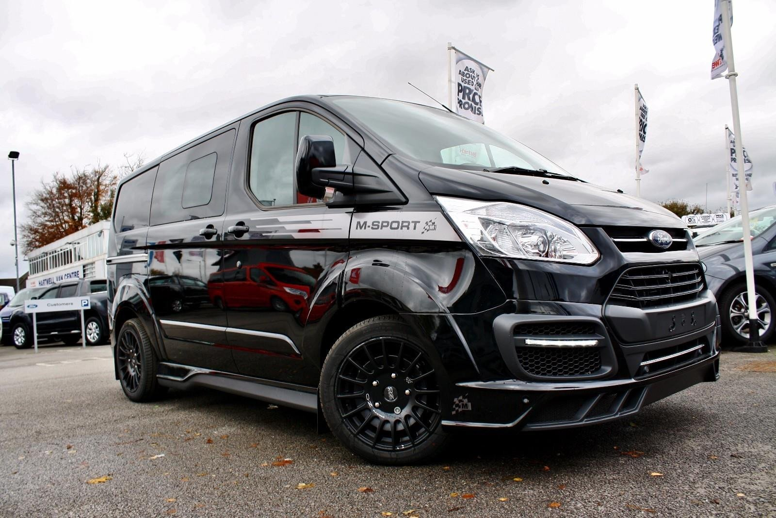 ms rt ford transit custom has got the sporting edge. Black Bedroom Furniture Sets. Home Design Ideas
