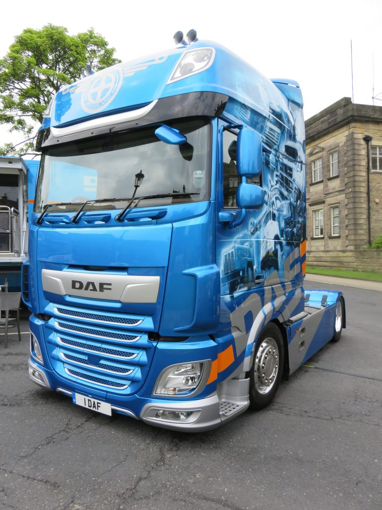 Stunning DAF XF 'Showtrekker' tractor-unit celebrates DAF 90th Anniversary - Fleet Transport
