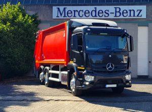 Mercedes-Benz Waste Management customers upgrade fleets
