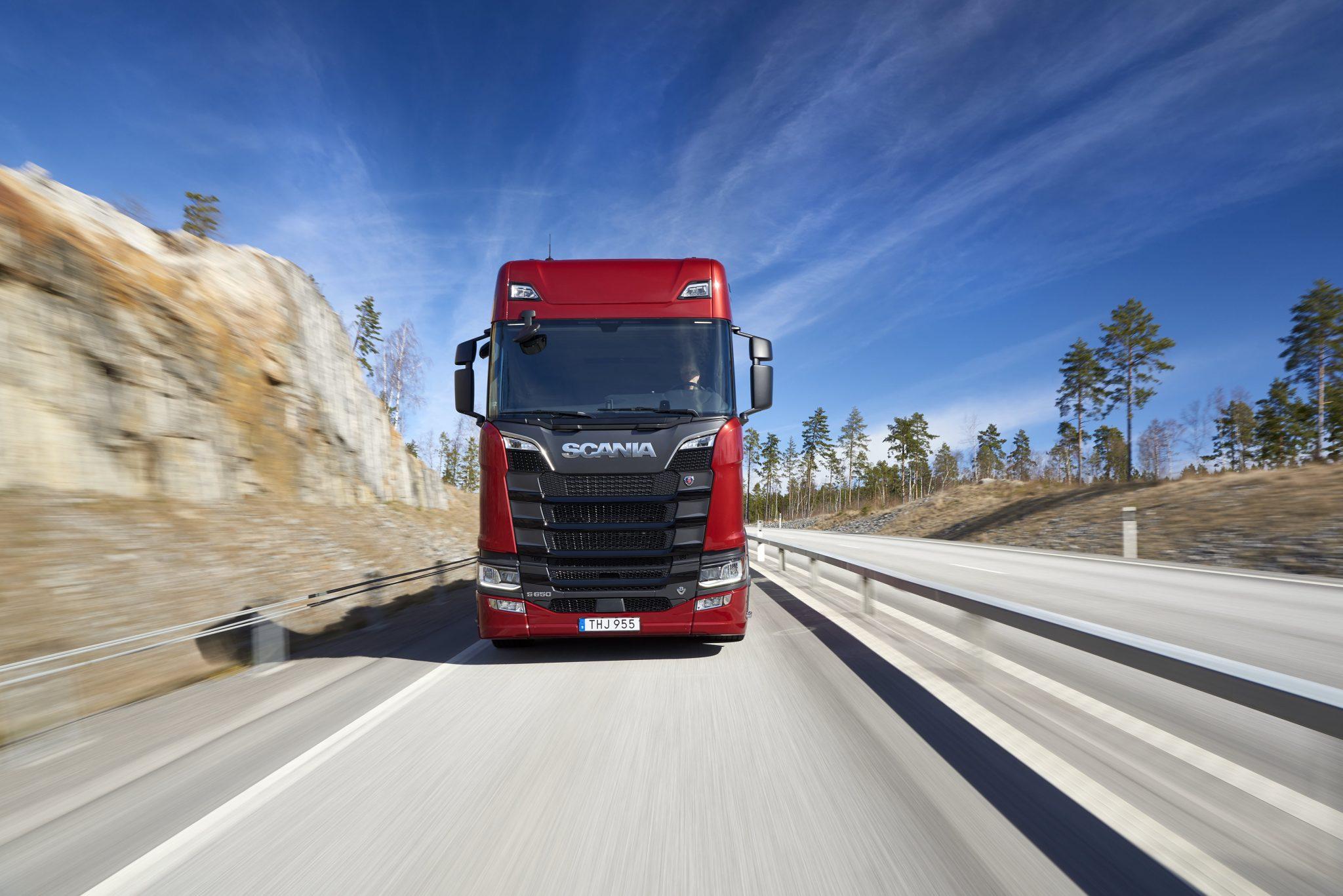 Scania restarts production and sales of V8s - Fleet Transport