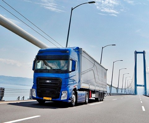 373fba5482 All-new Ford Trucks tractor-unit is about to hit Western Europe ...