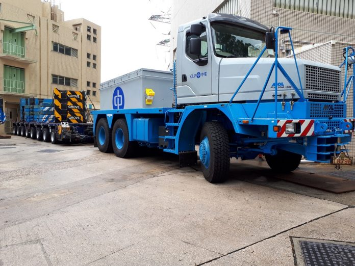 Extra Heavy Haulage truck