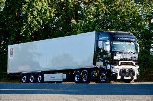 Top step for Renault Range T High on winning Irish Truck of