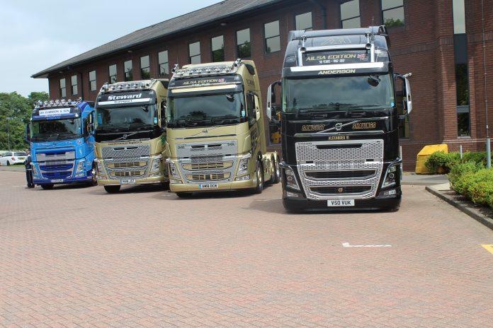 Volvo FH's road journey over 25 years - Fleet Transport