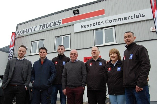 Renault Trucks' Ireland network