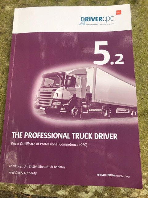 driver certificate of professional competence (cpc) syllabus