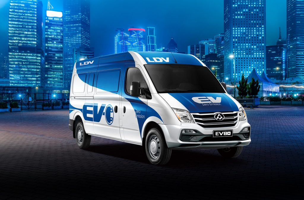 LDV Great Giveaway & new EV van to be launched at 2019