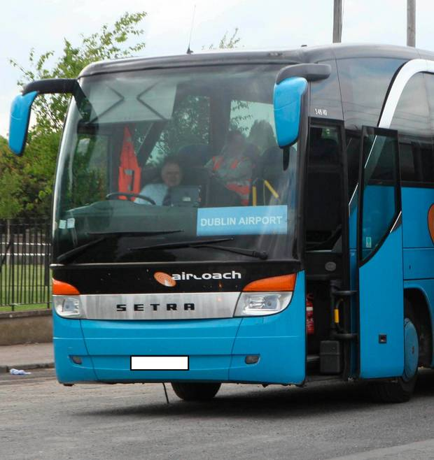 Aircoach Cork-Dublin Route