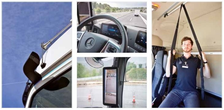 Actros inside and out