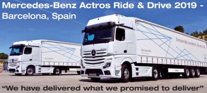 Actros 2019 test drive